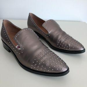 Sigerson Morrison Studded Flat Loafer 8.5